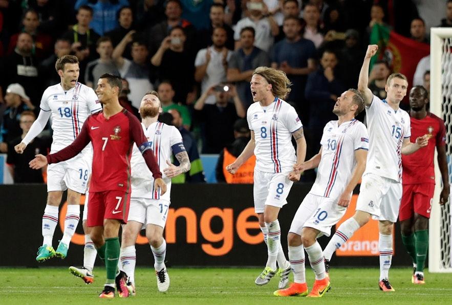 C朗--於冰島比賽之後