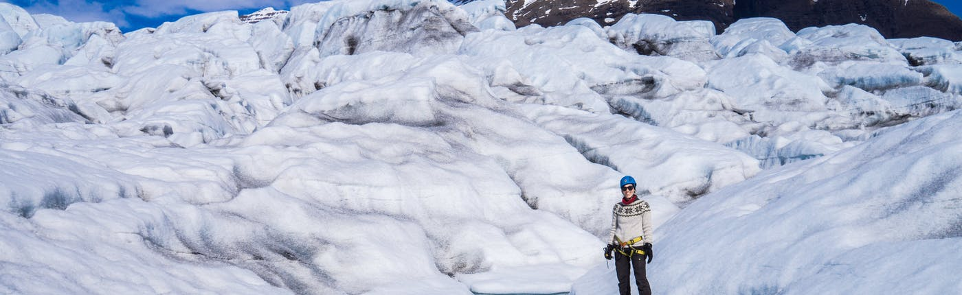 瓦特納冰川健行