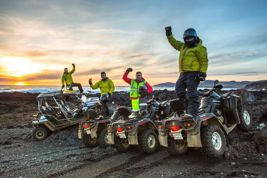 Where are the most popular locations to partake in ATV and Buggy tours in Iceland?