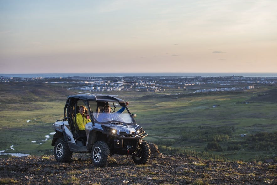 Iceland is a fantastic location to try ATV and Buggy driving for the first time.