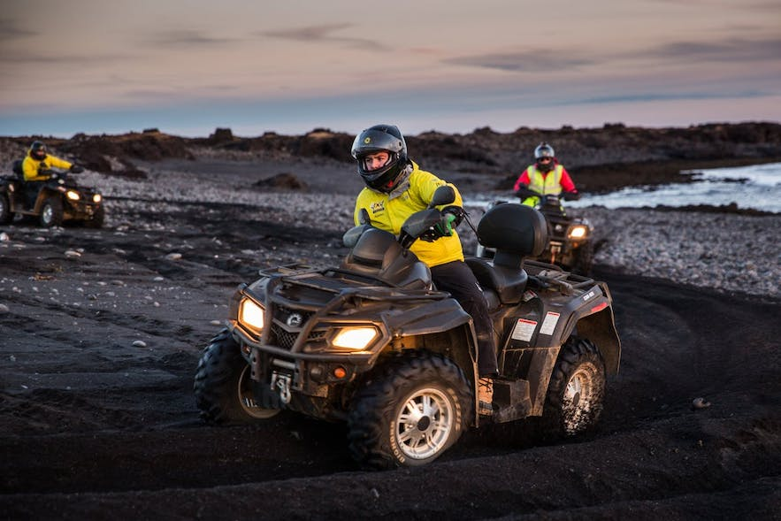 All Terrain Vehicles are operated by accelerating from the handlebars, making changing speeds as easy as a flick of the wrist.