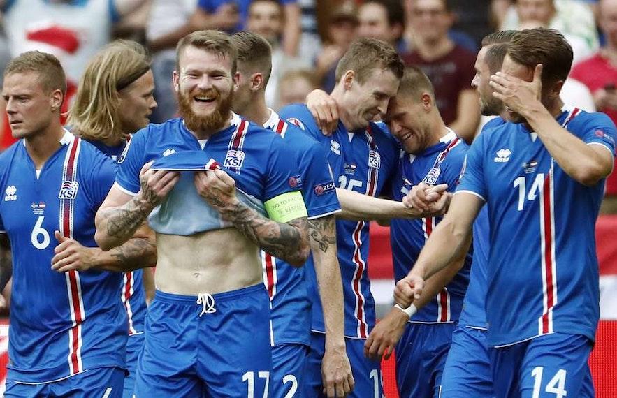 冰島足球隊隊員