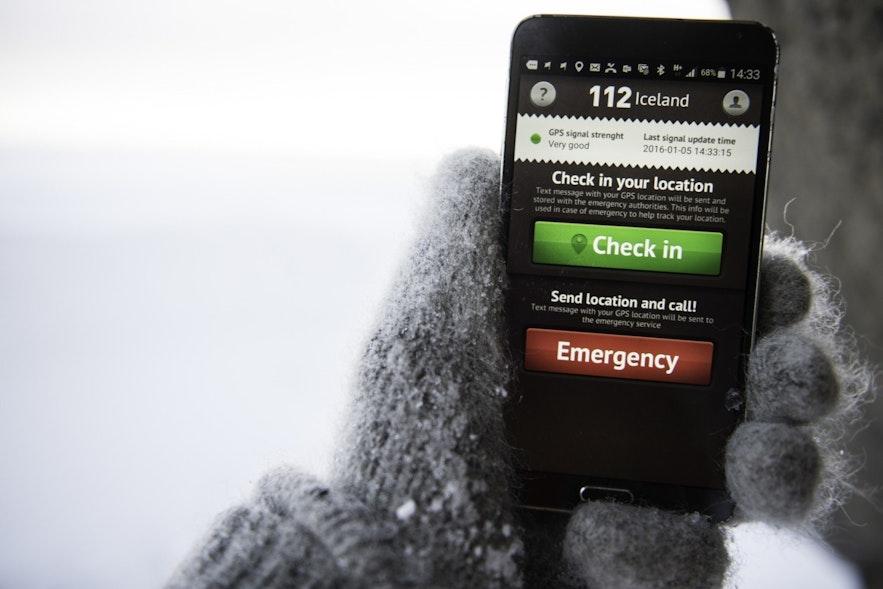 冰島報警App 112