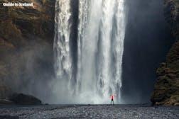 スコゥガフォスの滝