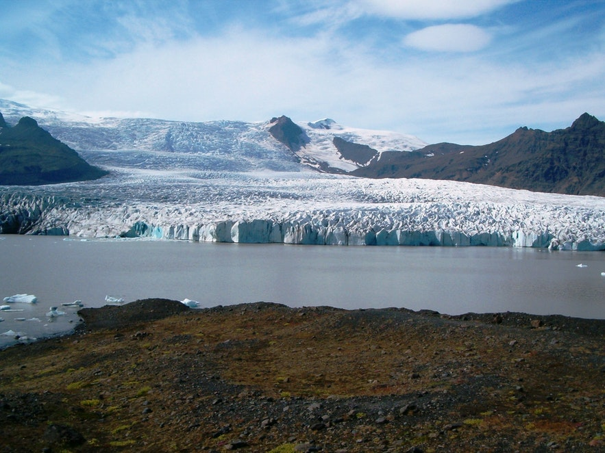 Piękne zdjęcie Breiðárlón.