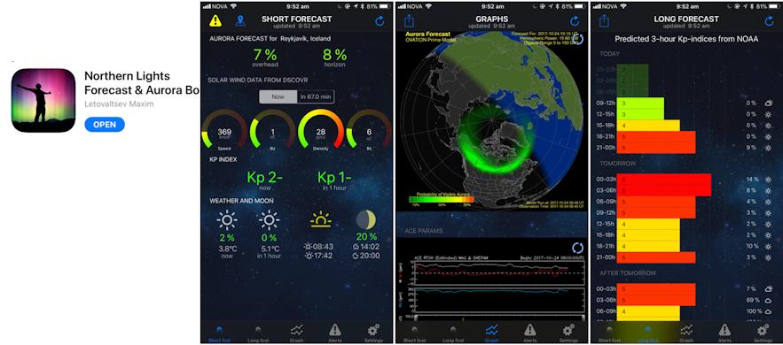冰島極光App