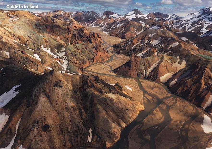 冰岛八月高地