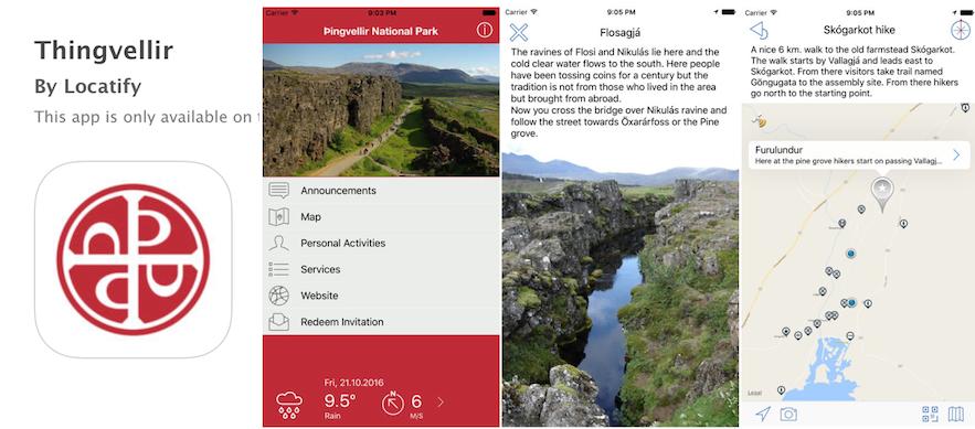 Thingvellir National Park App 冰島