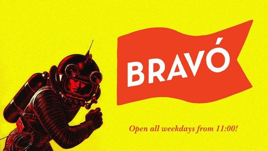 Baren Bravó har stadens längsta happy hour.
