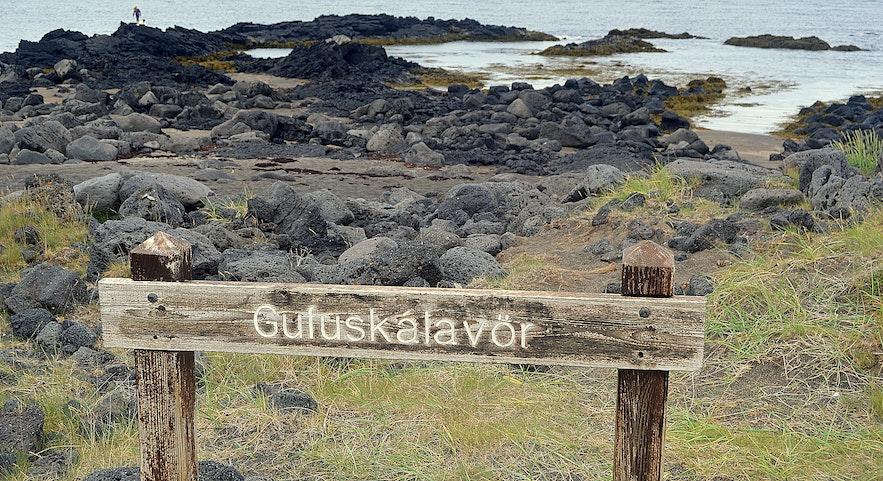 Gufuskálavör na półwyspie Snæfellsnes w zachodniej Islandii.