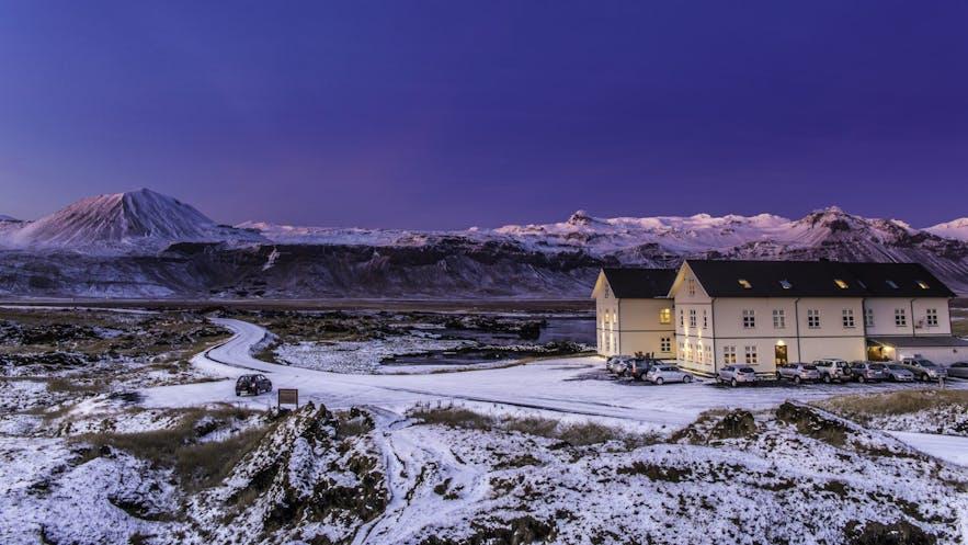 冬のホテル・ブージル
