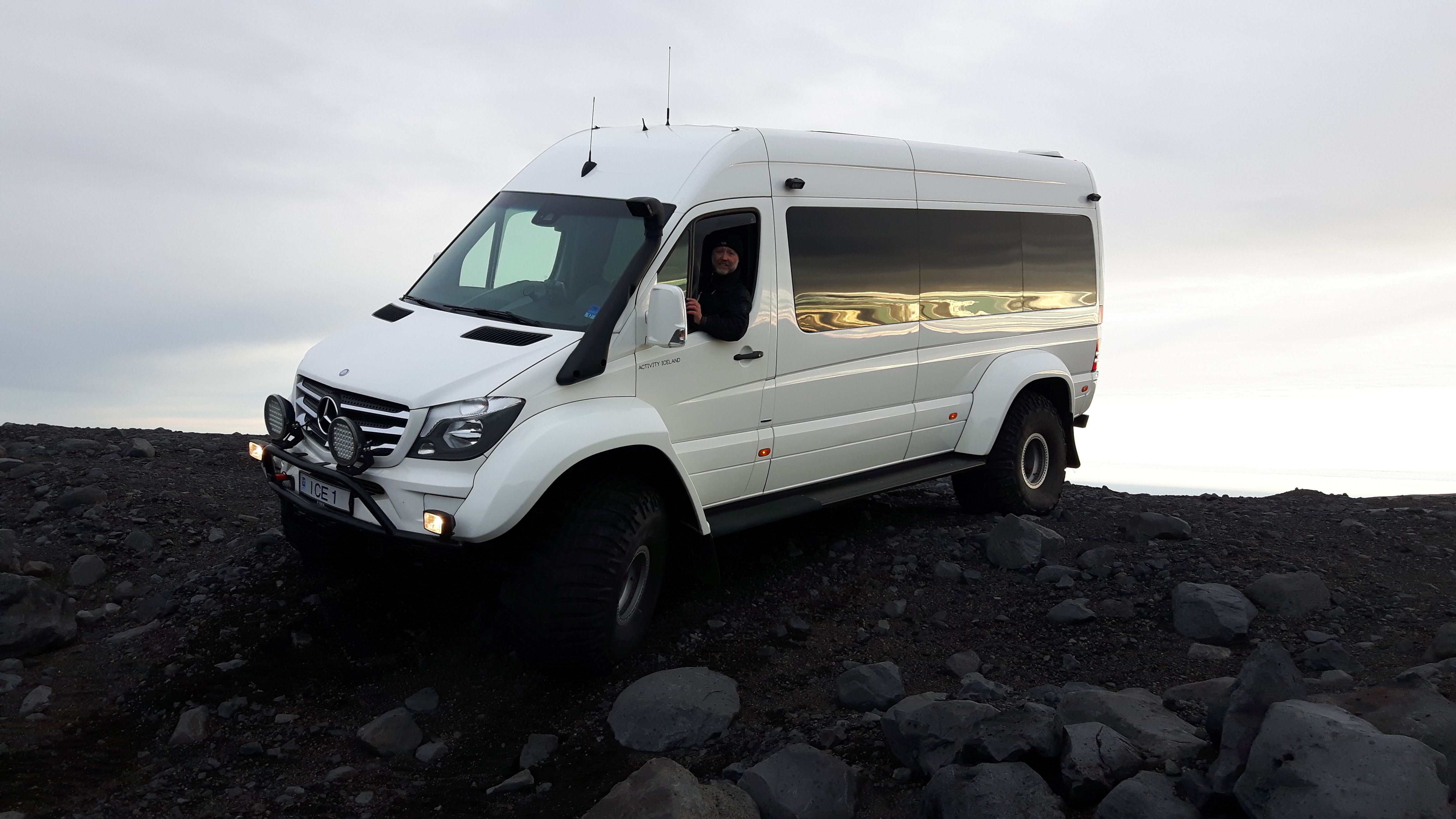 Allow our Super Jeep to take you off the beaten path of Iceland's South Coast