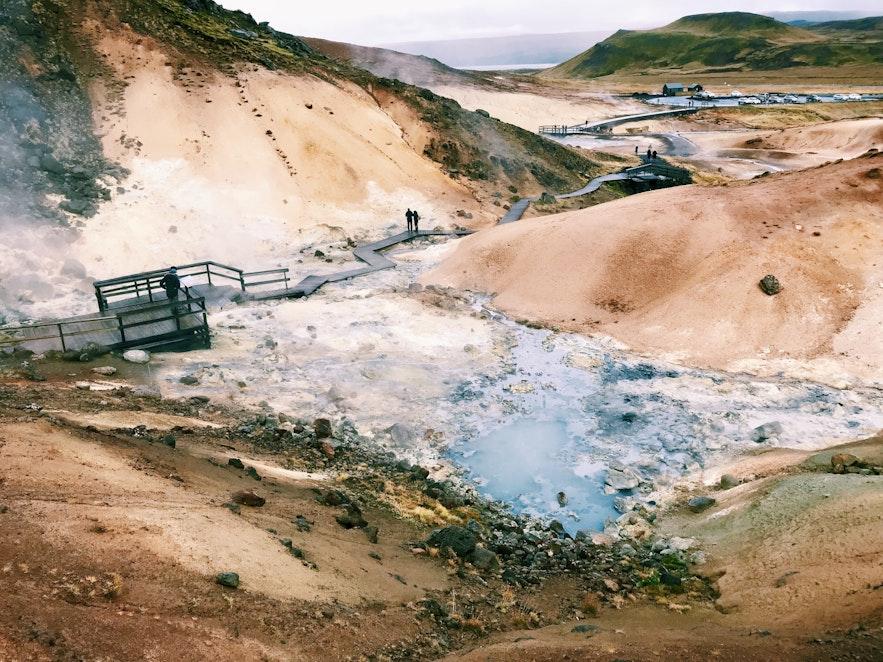 冰島Seltun地熱區