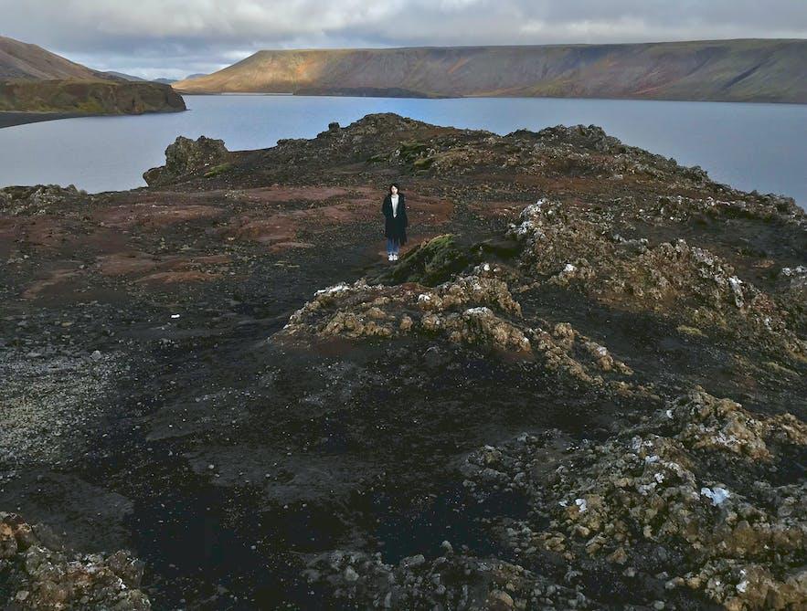 冰島南部某一個路的路邊
