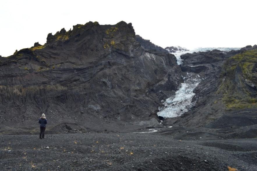ほとんど溶けてしまったギガヨークル氷河