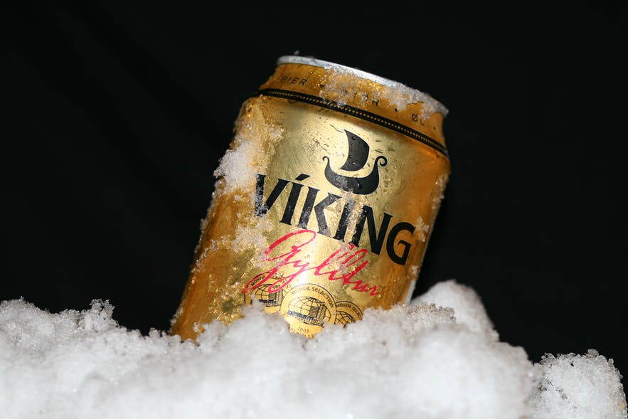 The stable Icelandic beer of Viking Gold, get it where you can!