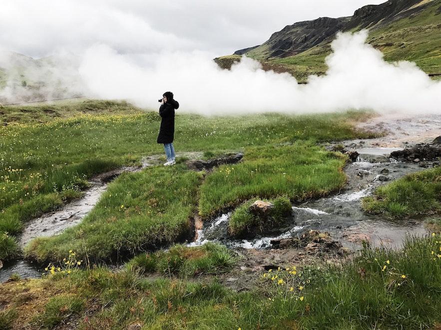 冰島南部地熱小鎮