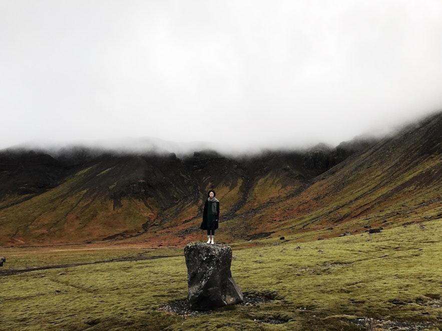 冰島南部某山