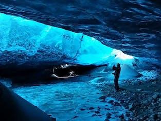 Grotte de glace & aurores boréales | Journée depuis Reykjavik