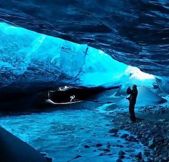 Grotte de glace & aurores boréales   Découverte de Jokulsarlon   De Reykjavik