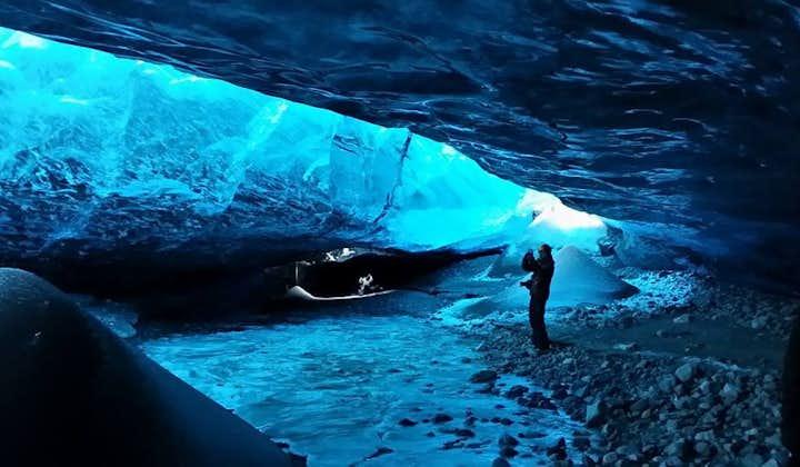 Grotte de glace & aurores boréales | Découverte de Jokulsarlon | De Reykjavik