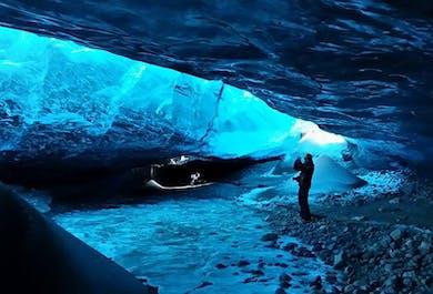 Jaskinia lodowa i zorza polarna | Wycieczka jednodniowa do Jokulsarlon