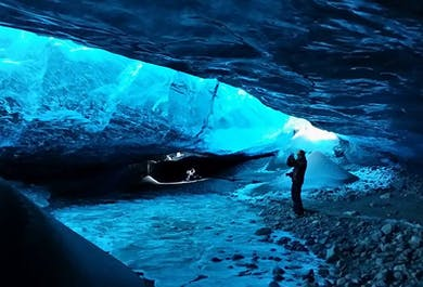 Ice Cave & Northern Lights   Day Tour to Jokulsarlon Glacier Lagoon