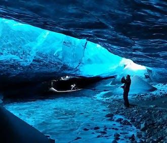 Ледниковая пещера и северное сияние   Однодневный тур из Йокульсарлон