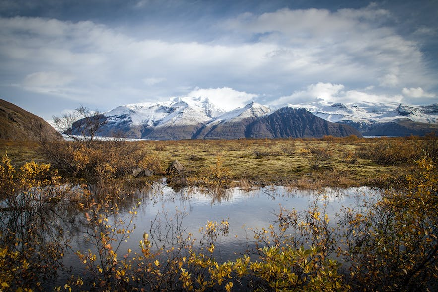 Vatnajökull, the ice cap itself, began to form 2500 years ago.
