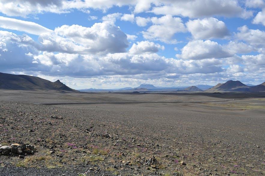 Pustynia w Parku Narodowym Vatnajokull.