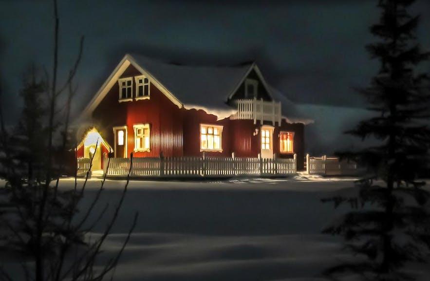 Knarrarholt, en av mange islandske hytter på bungalo.com