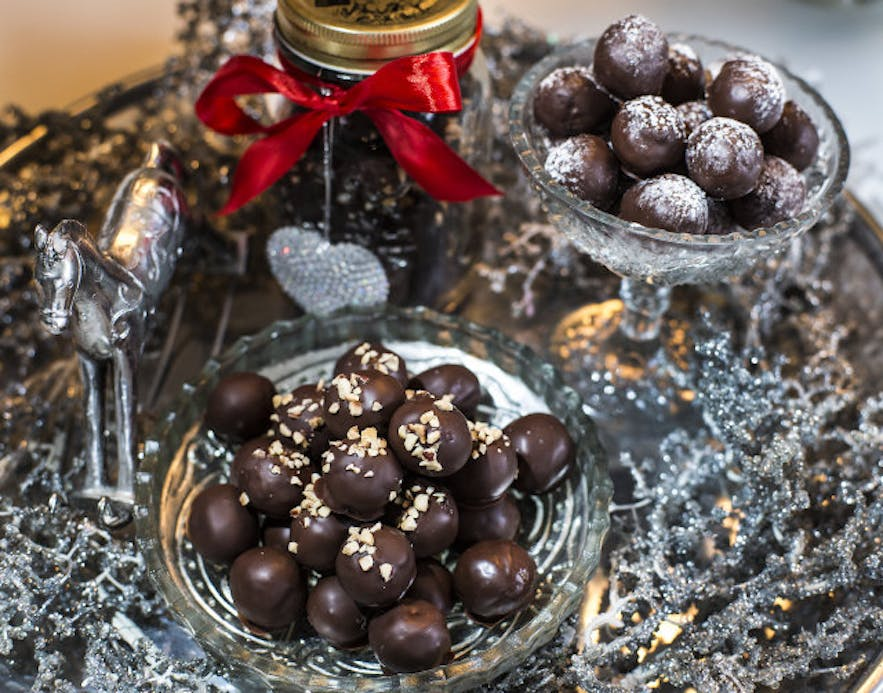 Christmas confectionary in Iceland