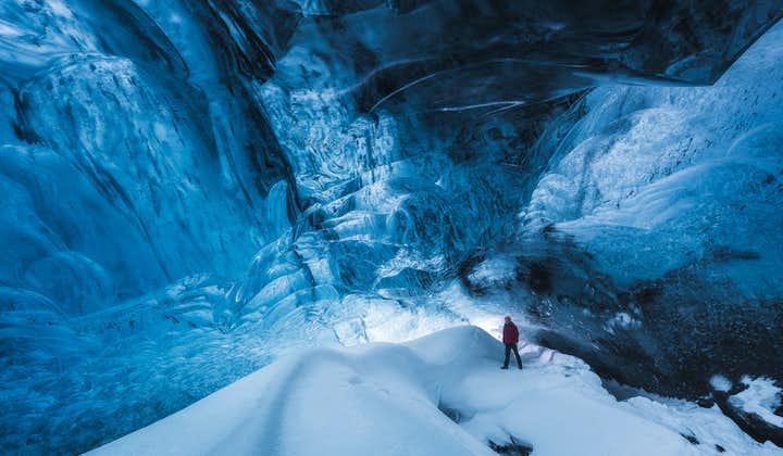 8 jours sous la magie hivernale islandaise | Parcs nationaux et grotte de glace