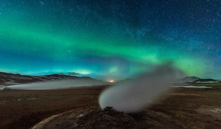 5-tägige Mietwagen-Winterreise   Nordlichter bei Myvatn mit Inlandsflug