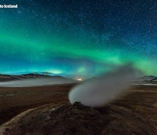 Autotour hiver de 5 jours | Islande du Nord et Aurores boréales au lac Myvatn