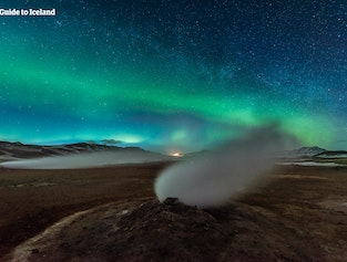 Stunning 5 Day Northern Lights Winter Self Drive Tour of North Iceland by Lake Myvatn
