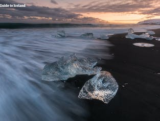 6일 겨울 렌트카 여행 패키지 |아이슬란드 요쿨살론, 얼음동굴 & 다이아몬드 해변