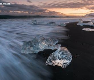 Autotour hiver de 6 jours | Jokulsarlon, Grotte de glace & Plage volcanique