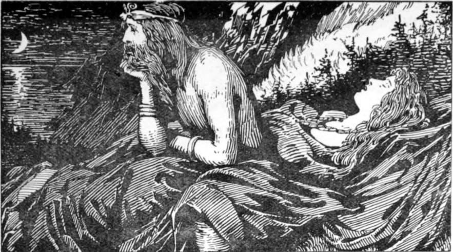 북유럽 신화 속 바다의 신, 뇨르드르