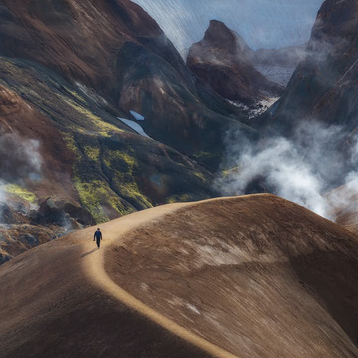 When walking through the dramatic Highlands in summer, you'll be left in no doubt as to why many call Iceland the Land of Ice and Fire.