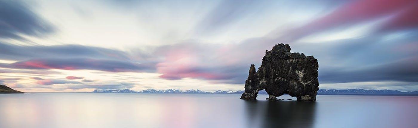Hvítserkur in North Iceland