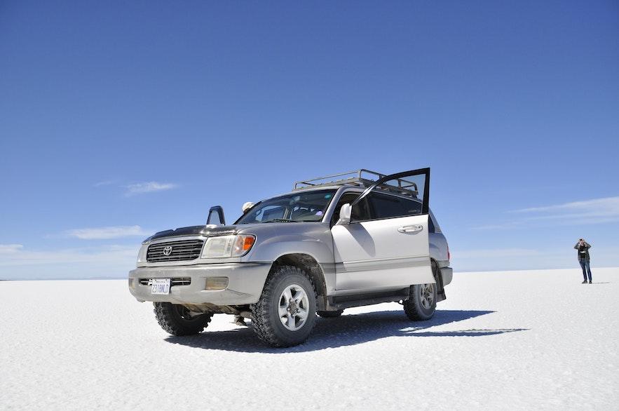 Der er en lang række forskellige køretøjstyper at vælge imellem.