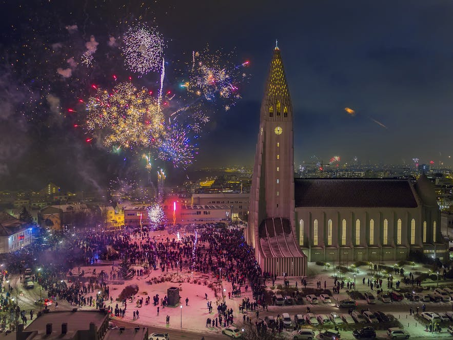 冰島新年倒數