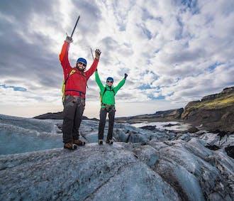 Sólheimajökull-Gletscherwanderung in kleiner Gruppe