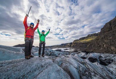 솔헤이마요쿨 빙하 탐험 (소규모 그룹)