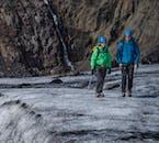 En petit groupe, une rando sur glacier est plus fun !