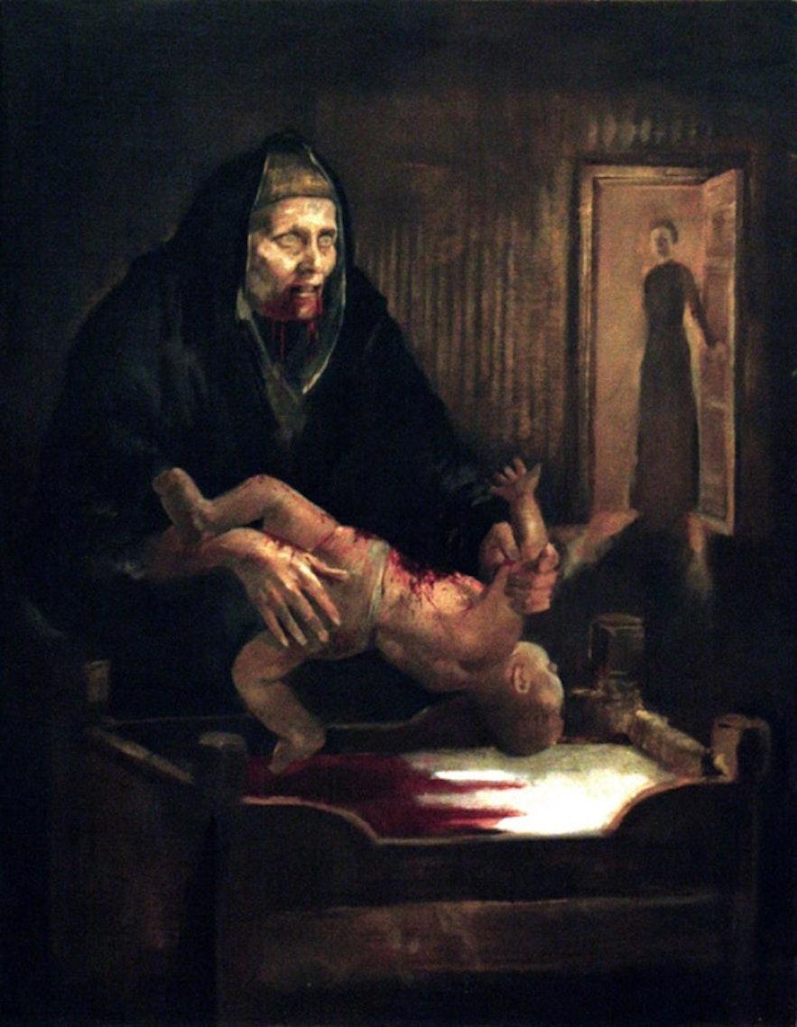 Þrándur Þórarins's Grýla