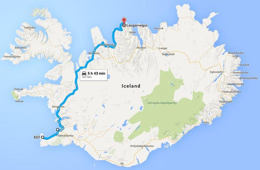 冰岛GPS