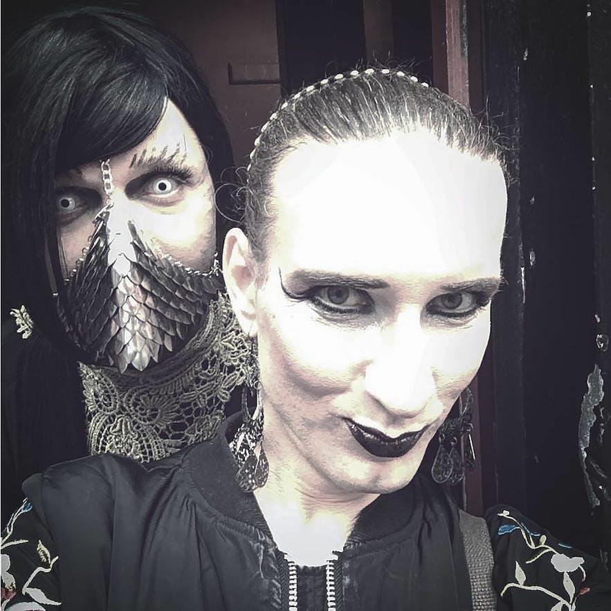 Mighty Bear and Skaði, punk queer musicians