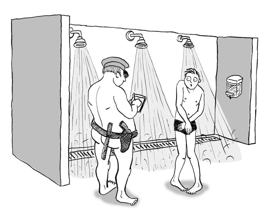 水着着用でシャワーを浴びると注意されるアイスランド